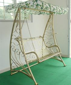 Landscape Gardeners Are Like Outside Decorators! Wooden Swing Chair, Wooden Swings, Swinging Chair, Window Security Bars, Garden Swing Seat, Garden Gates And Fencing, Wrought Iron Stairs, Bed Frame With Storage, Steel House