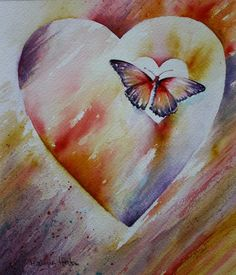 Letting Go -  M. Wagner-Heaton    Watercolor