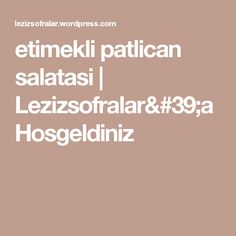 etimekli patlican salatasi   Lezizsofralar'a Hosgeldiniz