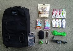 GoRuck is kind enough to provide a packing list for Challenge participants to keep them from showing up grossly under-equipped, but food, supplements and accessory choices are left entirely up to the prospective GRT.  With that in mind, I thought it might be worthwhile to share some of what has worked for me