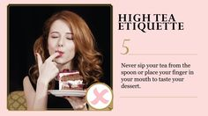 Tea Etiquette - it might be fun to make a game of learning some tea etiquette?