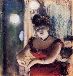 Cafe-Concert Singer - Edgar Degas