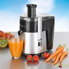 Ηλεκτρικός Αποχυμωτής Στίφτης Φρούτων και Λαχανικών 400W με Κανάτα 300ml σε Μαύρο και Ασημί χρώμα