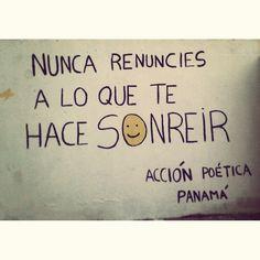 Acción poética Panamá #Acción Poética Panamá #accionpoetica Happy Life, Funny, Words, Quotes, Sentences, Spanish, Memes, Google, Amor