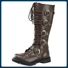 Stiefel STEAM-20 Braun, EU 36 - Stiefel für frauen (*Partner-Link)