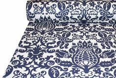 Tonic Living,Bodega, Navy,100% 10 oz cotton duck with slub,Retro futon covers, retro fabric and pillows