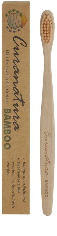 Curanatura Bamboo Periuta de dinti de bambus fin 2