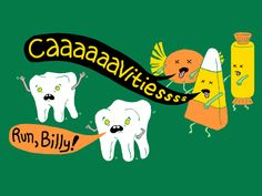 No need to worry much about cavities because your local dentist will fix them in no time with the help of dental restorations and Dental Hygienist, Dental Assistant, Dental Implants, Dental Health, Oral Health, Dental Care, Health Diet, Dentist Humor, Funny Dentist