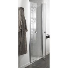 porte de coulissante sensea optima 2 verre s 233 rigraphi 233 chrom 233 120 cm r 233 no salle de bain