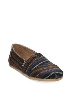 cadae42dc14 TOMS ALPARGATA PATTERN SLIP-ON SNEAKERS.  toms  shoes