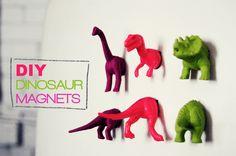 diy dinosaur toy magnets