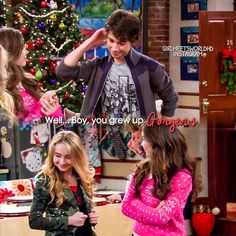 "#GirlMeetsWorld 1x16 ""Girl Meets Home for the Holidays"" - Joshua, Maya and Riley"