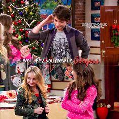 "#GirlMeetsWorld 1x16 ""Girl Meets Home for the Holidays"" - Joshua, Maya and Riley"