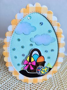 #eastercrafts #easterdiy #greetingcards #handmadecrafts #handmadecards #diycrafts #diycards #artsandcrafts #diy #cardmaking #cardmakingideas Egg Stamp, Easter Backgrounds, Yellow Pattern, Card Making Techniques, Shaker Cards, Ink Pads, Pattern Paper, Easter Crafts, Diy Cards