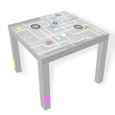 Fun for Father's Day! Pacman Coffee Table by artenclv on Etsy, $99.00