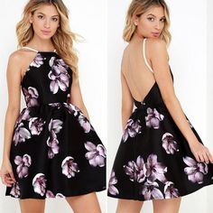 6c73d451db4 Bear Shoulder Print A-line Spaghetti Straps Backless Short Dress