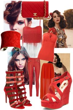 """""""Sexy Red brunette"""" by bidas84 ❤ liked on Polyvore"""