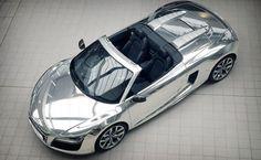 Audi. R8. Chrome