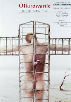 Sacrifice, The - Andrei Tarkovsky, Polish Movie Poster