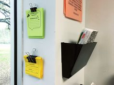 binder clip and push pin to hang them in an easy-to-reach location.  Common forms might include:  hall passes, tutorial passes, classroom incentive slips, detention slips, etc.