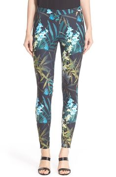 Ted Baker London 'Twilight Floral' Print Leggings available at #Nordstrom