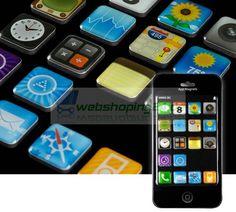 Apps iPhone iPod Kühlschrankmagnete