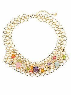 ABS by Allen Schwartz Jewelry Multi-Chain Multicolor Necklace (saksfifthavenue.com)