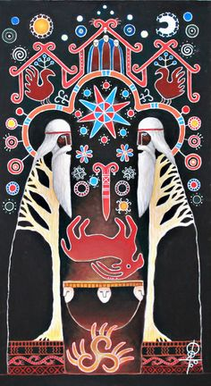 Галерея авторских работ художника Сухарева Максима на тему славянской мифологии.