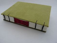 Lime green journal by immaginacija on Etsy
