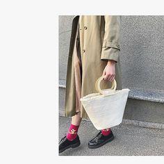 👌🏻🙌🏻 Straw Bag, Bags, Purses, Taschen, Totes, Hand Bags, Bag, Handbags, Pocket