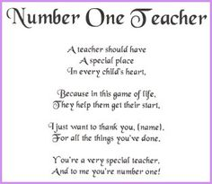 I Miss You Teacher Poems | Best teacher poems This is your index.html page