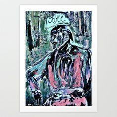 James Joyce Art Print by Shane R. Murphy - $19.00 James Joyce, Art Prints, Artwork, Art Impressions, Work Of Art, Auguste Rodin Artwork, Artworks, Illustrators