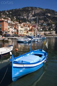 Villefranche-Sur-Mer, Alpes Maritimes, Provence, France, Mediterranean by Gavin Hellier Transportation Photographic Print - 46 x 61 cm Andorra, Antibes, Saint Tropez, Places To See, Places Ive Been, Travel Around The World, Around The Worlds, Juan Les Pins, Villefranche Sur Mer
