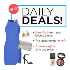 """""""NEW Daily Deals Feature - Get the Hottest Sales Daily"""" by polyvore ❤ liked on Polyvore"""
