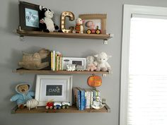 Nursery Shelves - lo