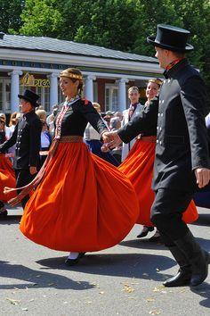 Dziesmu un deju svētku gājiens. Song and Dance festival parade. Riga, Latvia 2013.