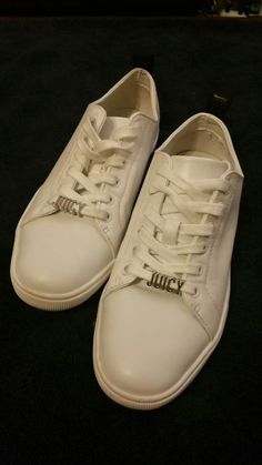 996a7b87e7b Extra Off Coupon So Cheap Juicy Couture White Tennis Athletic Shoes Size US  Pre-Owned