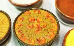 Caruru, a typical dish from Bahia, it's made with okra, cashew nuts, roasted ground peanuts, spices and smoked shrimps.