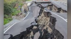 Bill ✔️ State Highway 1 near Kaikoura, New Zealand following a 7.8 magnitude earthquake, 14 November 2016.    Bill Gibson-Patmore.  (curation & caption: @BillGP). Bill✔️