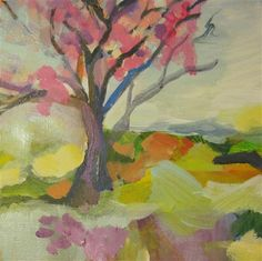 Colorful Landscape part I by Colette Wirz Nauke | acrylic painting | Ugallery Online Art Gallery