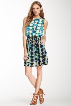 M Missoni Belted Printed Silk Dress by Assorted on @HauteLook