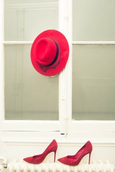 Lady in red. http://www.thecoveteur.com/lauren_rubinski