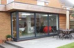 smarts systems visoglide aluminium three pane patio door
