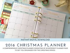 Christmas Planner -