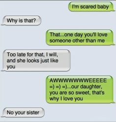 Hilarious Texting Fail thats why you dont go trying to get your bf to