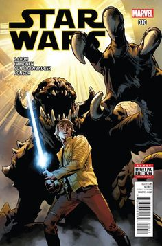 *High Grade* (W) Jason Aaron (A/CA) Stuart Immonen, Wade Von • Luke Skywalker...imprisoned! • His friends race across the galaxy to save him before he enters... • THE ARENA OF DEATH! Rated T