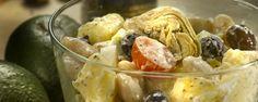 Griekse aardappelsla #amanprana #noblehouse #gezond #natuurlijk #bio #salade #grieks #aardappel #olijfolie  #olie #olijf #hermanoscatalan #botanicomix #kruiden #