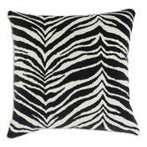 Found it at Wayfair - Zebra Down Fiber Pillow in Black