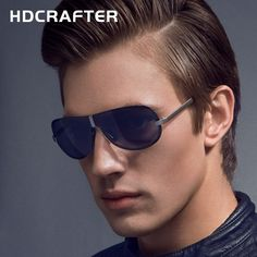 Hot Selling Fashion Polarized Outdoor Driving Sunglasses for Men glasses Brand Designer with High Quality 4 Colors