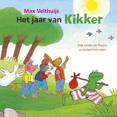 Het jaar van Kikker | Er is van alles te beleven in de wereld van Kikker. Het hele jaar door.  Speel mee met Kikker en zijn vriendjes en kijk achter alle flapjes!  Het eerste grote flapjesboek van Kikker!